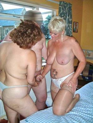Granny Threesome Pics