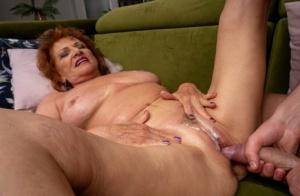 Granny Cum In Pussy Pics
