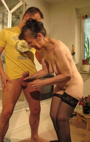 Granny Handjob Pics