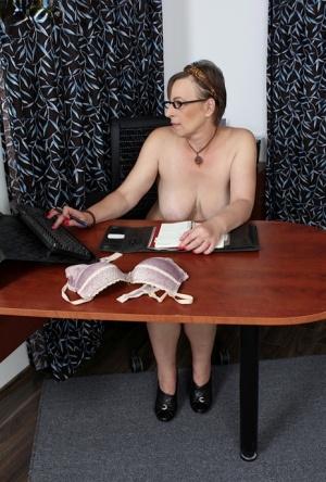 Office Granny Pics
