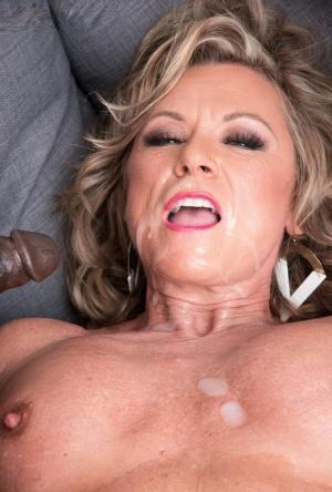 Granny Cum On Tits Pics