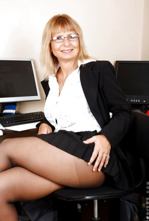 Granny Secretary Pics